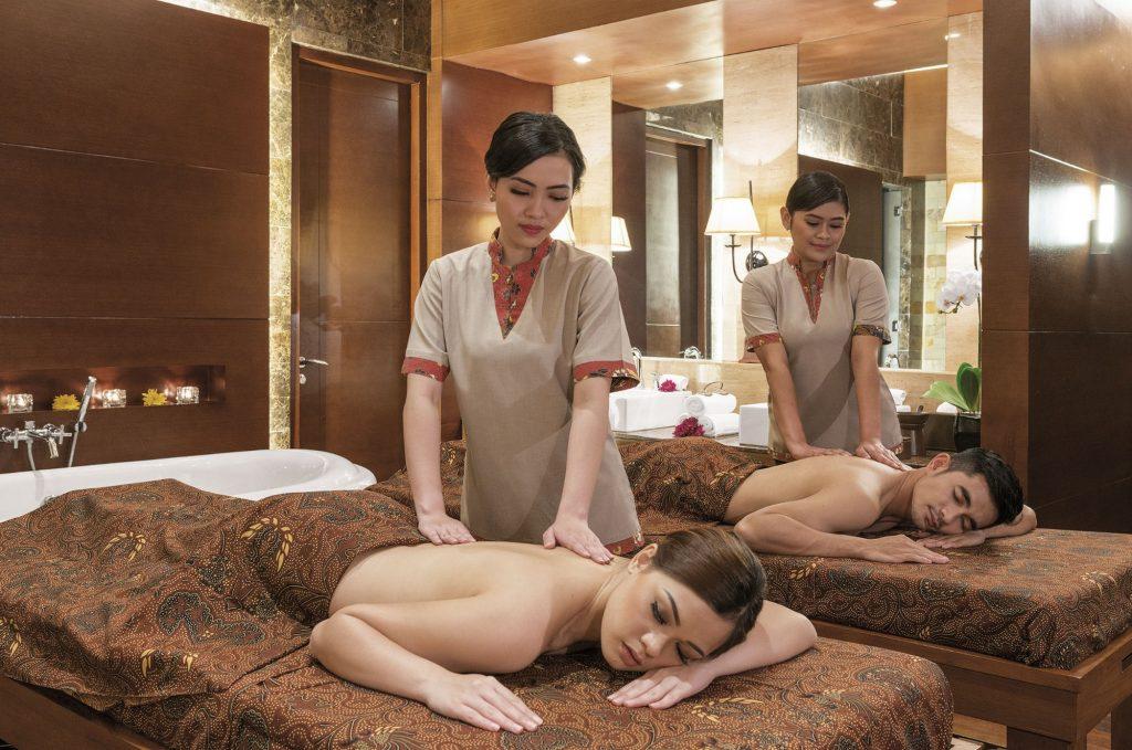 Providing massages services